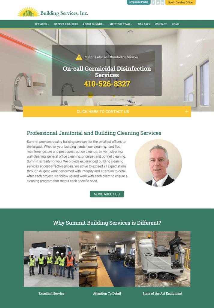 Summit Building Services Website