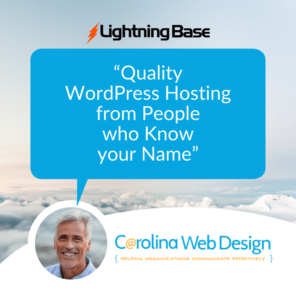 Quality WordPress Hosting From People Who Know Your Name