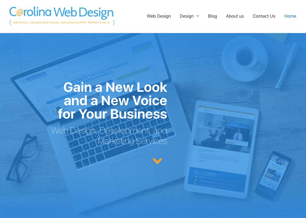 Carolina Web Design - Website